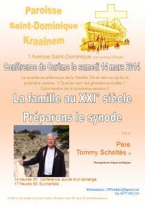 affiche conférence Th Scoltès